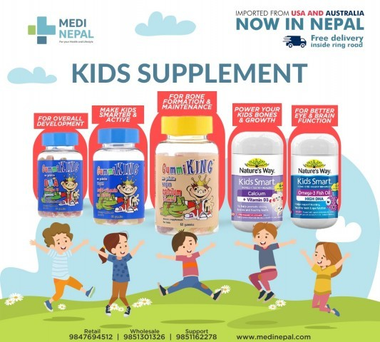 Pamper your kids with our supplements.