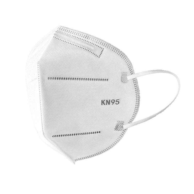 KN95 Mask with Filter - White